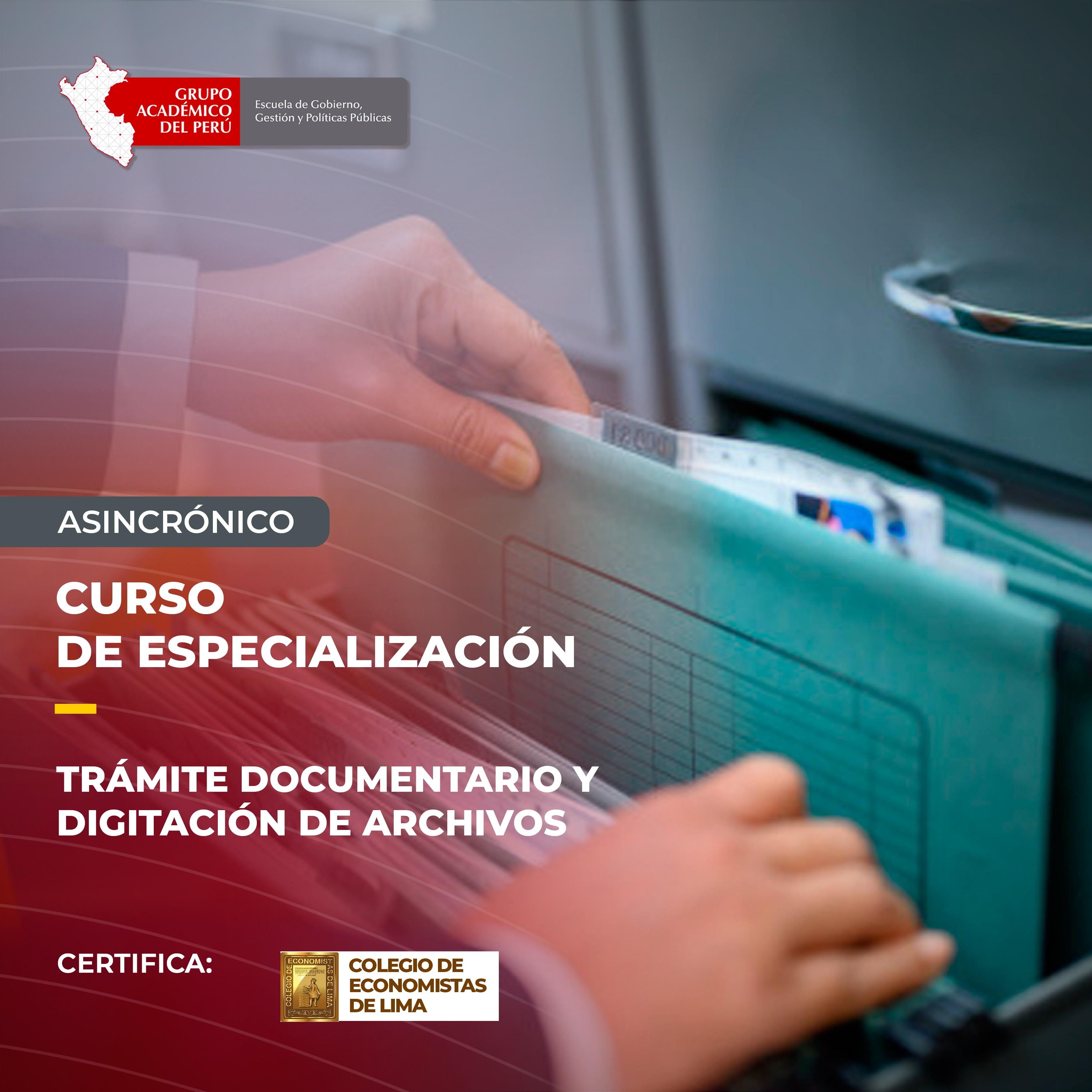Tramite Documentario y Digitalización