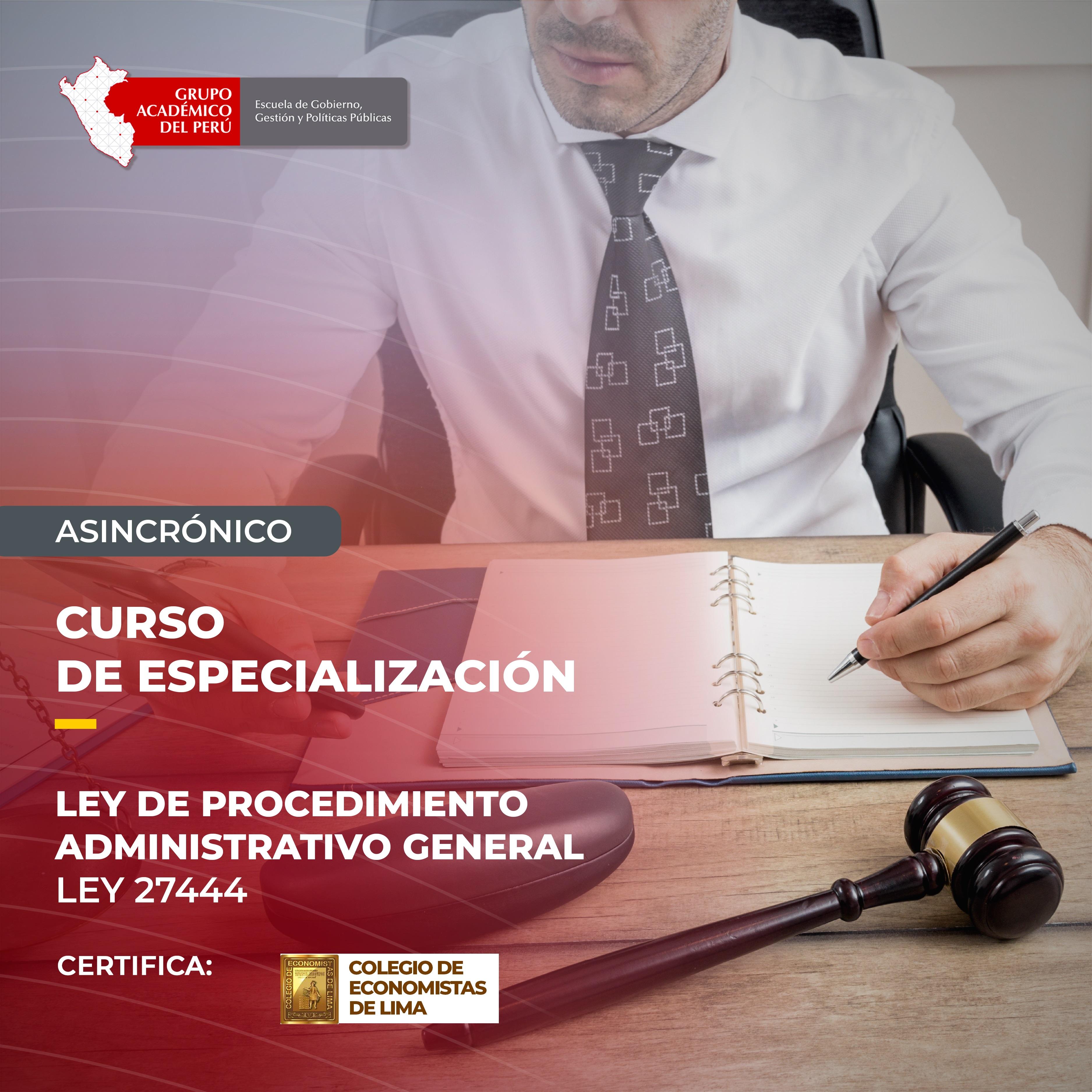 PROCEDIMIENTOS ADMINISTRATIVOS ACTUALIZACIÓN DEL  NUEVO TUO (Ley N° 27444)