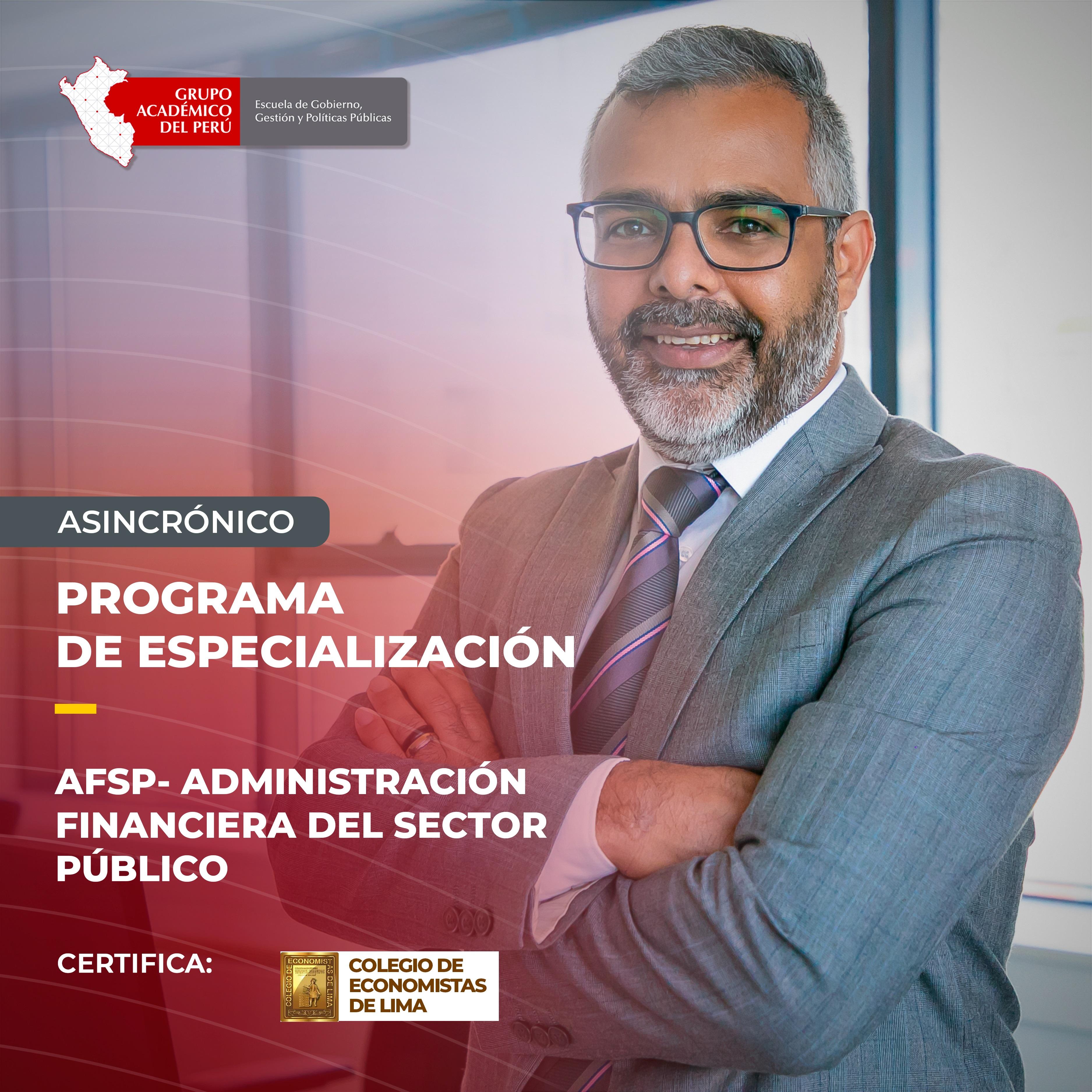 Administración Financiera del Sector Público - AFSP (Grabado)